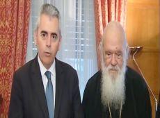 """Μ. Χαρακόπουλος προς Αρχιεπίσκοπο: """"Στόχος μας η προαγωγή των κοινών αξιών των Ορθοδόξων"""""""