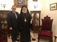 """Μ. Χαρακόπουλος από το Κάιρο: """"Δεν απειλείται με σχίσμα η Ορθοδοξία λόγω της Ουκρανίας!"""""""