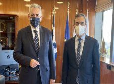Μ. Χαρακόπουλος με Υφ. Προστασίας του Πολίτη: Ποσόστωση και στην εισαγωγή σεισμοπαθών στις σχολές Σωμάτων Ασφαλείας