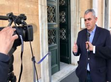 """Μ. Χαρακόπουλος για αποδοκιμασίες υπουργών: """"Σεβαστή η διαμαρτυρία αρκεί να μη διολισθαίνει σε βία!"""""""